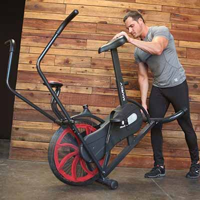 Marcy Classic Upright Fan Bike Review
